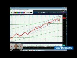 Юлия Корсукова. Украинский и американский фондовые рынки. Технический обзор. 12 ноября. Полную версию смотрите на www.teletrade.tv