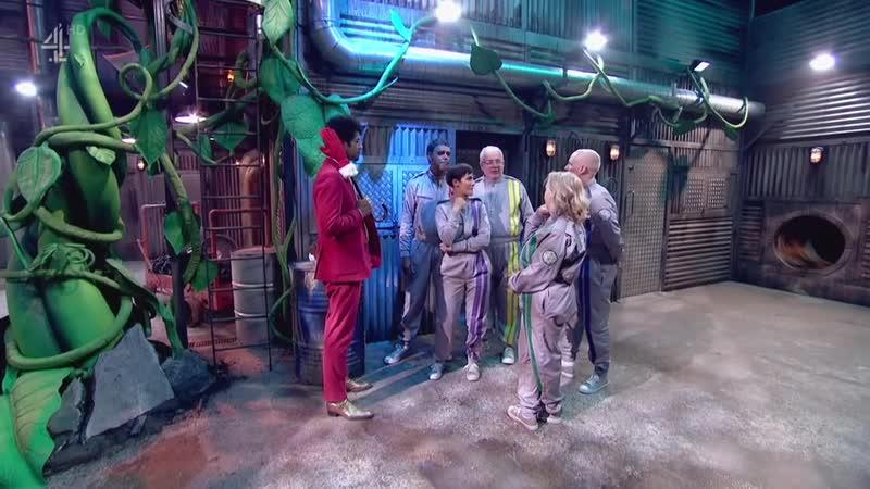 The Crystal Maze Christmas Celebrity Special Christopher Biggins Frankie Bridge Chris Kamara Jamie Laing Deborah Meaden