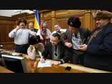 Письмо Путину от клоунов верховной рады внакраины.
