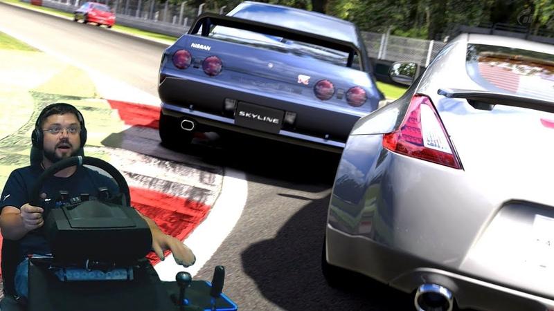 Настоящая мужская БОРЬБА до самого конца Чемпионат на крутых японках в Gran Turismo 5