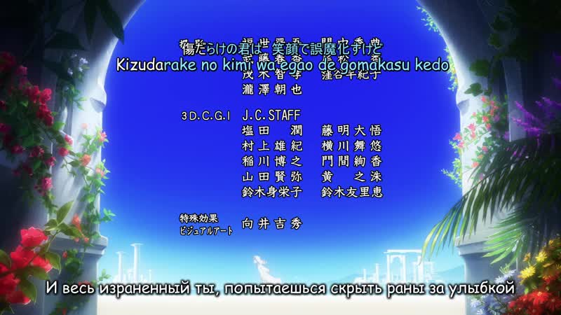 AniDate Karaoke Toaru Majutsu no Index III ending Yuka Iguchi Kakumei Zenya
