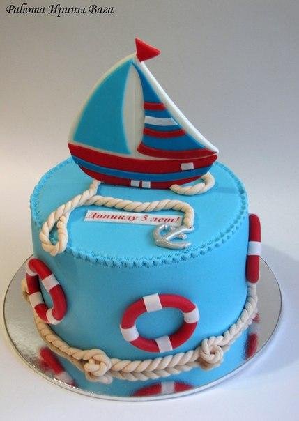 Морской торт фото