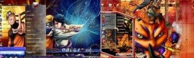 Наруто Темы для Windows 7 скачать (Naruto Themes)