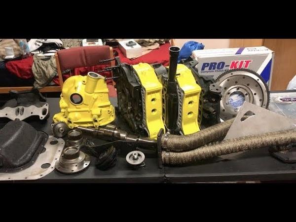 RX7 KILLER BEE ENGINE BUILD UPDATE Progress change of plans