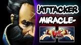 Miracle- Kunkka vs TOP 1 Kunkka Player !Attacker - EPIC Divine Rapier Battle Dota 2 Gameplay