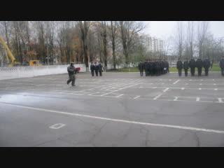 Показательные выступления в войсковой части 5524 (Витебск)