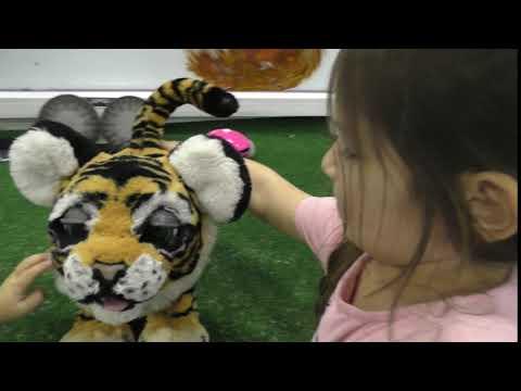 Робот тигр robot tiger городроботов