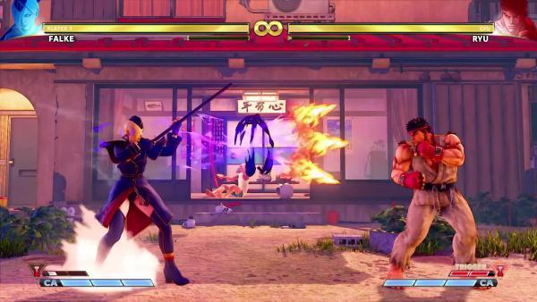 Falke в новом трейлере Street Fighter V: Arcade Edition
