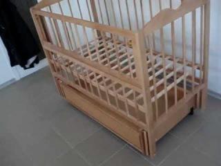 Кроватка детская маятник.MPG