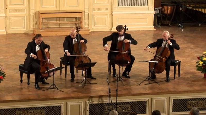 Rastrelli Cello Quartet. Sulkhan Tsintzadze Georgian Folk Suite
