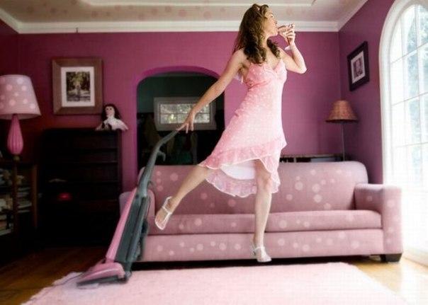 недовольная домохозяйка