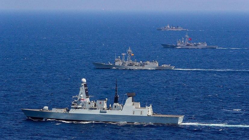 Зачем военные корабли НАТО вошли в Чёрное море