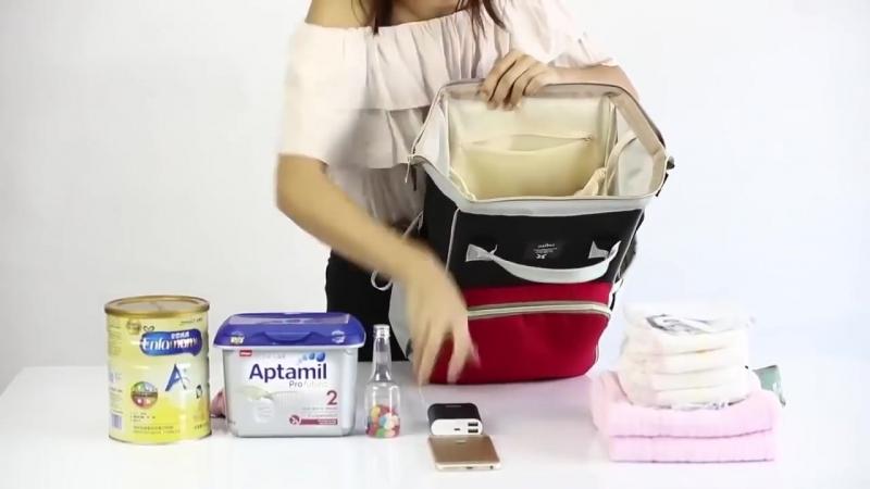 Сумка-рюкзак для мамы Baby Mo (Mummy Bag)