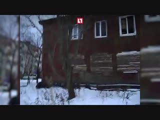 Бомжи и крысы атакуют дом в Петрозаводске