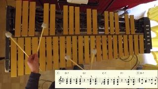 Jazz Vibraphone Etude: 8 Afro-Cuban Montunos for Vibraphone
