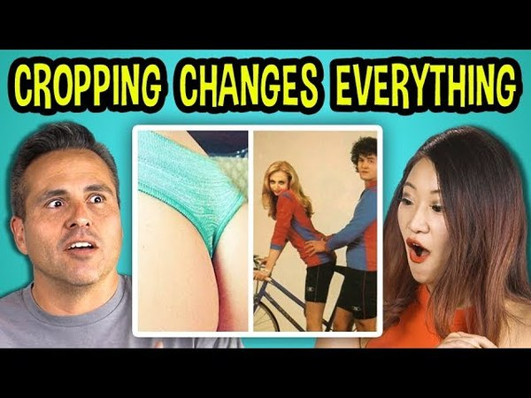 10 PHOTOS WHERE CROPPING CHANGES EVERYTHING w Adults (REACT)