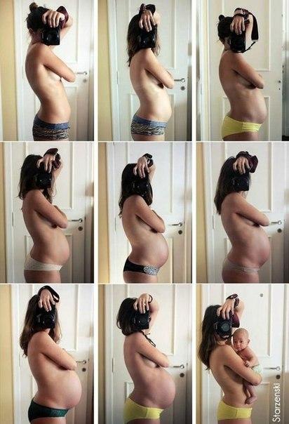 Беременная 9 недель