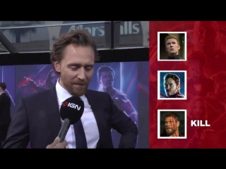 Fck, Marry, Kill with the cast of Infinity War. Between Captain America, Star-Lord, and Thor
