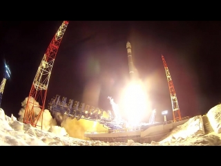 Пуск ракеты-носителя «Союз-2.1В» с космодрома Плесецк