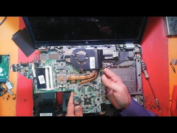 HP Pavilion DV7 Display Problem Solved By Electronics Tips Tricks