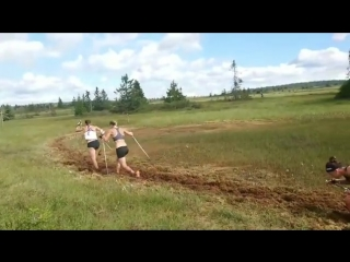 Бег по болоту/группа Крамера