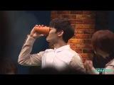 130811 아름다운그대에게 벌칙음료 대신 마시는 흑기사 민호오빠