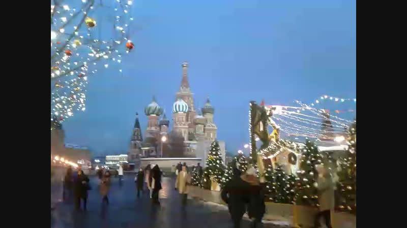 Москва Красная площадь 2018