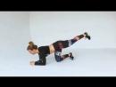 Ещё одно шикарное упражнение для красивых бёдер 😜 Планка с поднятием левой правой ноги