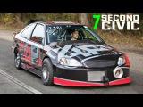 First 7 Second SFWD Pass EVER - Ramey Built Civic