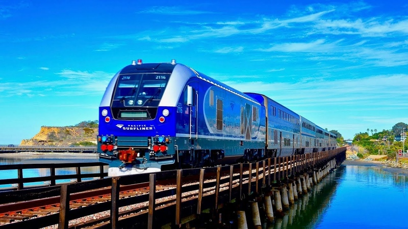 Amtrak Surfliner NEW Charger Locomotives!