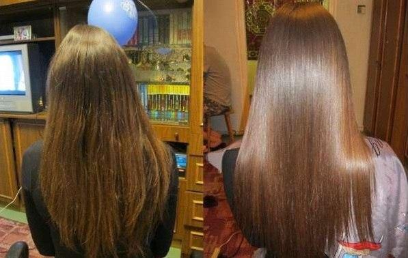 Ламинирование волос желтком в домашних
