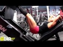 IFBB Bikini Pro Lindsey Waters Blasts Butt! Training glutes with a fitness pro!