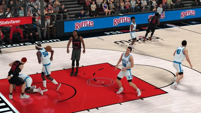 NBA2K19 Posterizered Dunk