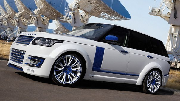 Range Rover CLR R Imperial Stormtrooper.