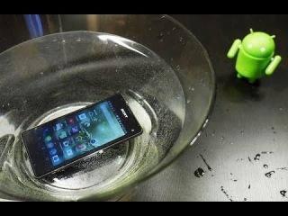 Обзор Sony Xperia Z1 Compact: вода и перчатки