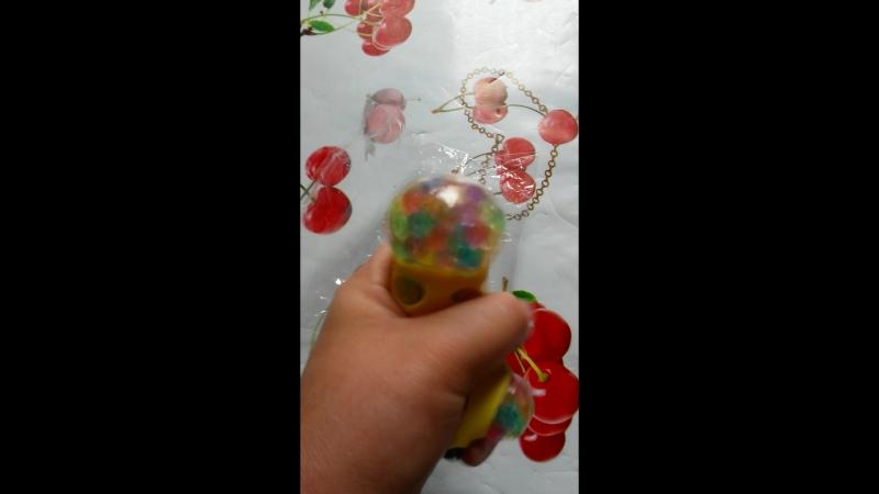 Антистресс с шариками орбиз