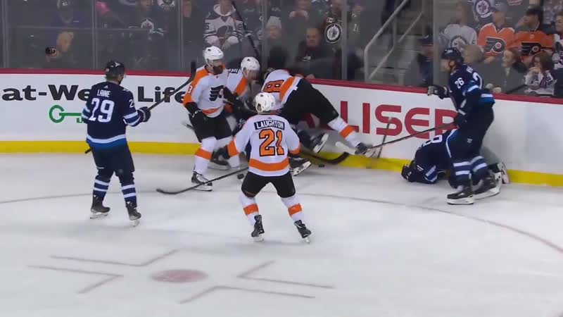 Philadelphia Flyers vs Winnipeg Jets - Dec 9, 2018 - Game Highlights - NHL 2018-19 - НХЛ