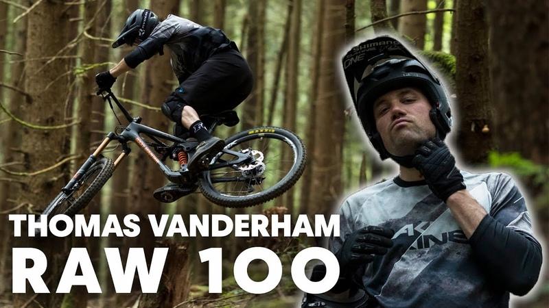 100 seconds of North Shore gnarliness | RAW 100 w/ Thomas Vanderham