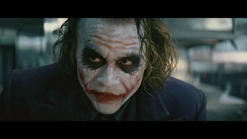«Джокер Хита Леджера» в стиле трейлера «Джокера Хоакина Феникса»