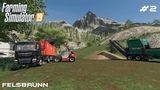 Making and selling wood chips Forestry on Felsbrunn Farming Simulator 19 Episode 2