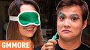 Blindfold Makeup Challenge w/ Safiya Nygaard Tyler Williams