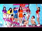 180908 Arirang Simply K-Pop Pyeongtaek Rock Festival.Momoland - BBoom BBoom + Wonderful Love (EDM) + BAAM