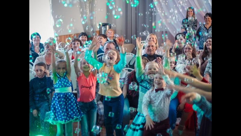 Шоу пузырей Maxshow-Детские праздники на любых площадках