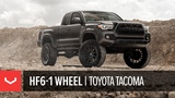 Vossen Hybrid Forged HF6-1 Wheel  Lifted Toyota Tacoma