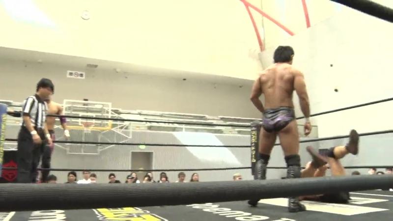 Daisuke Sasaki, Soma Takao, Tetsuya Endo vs. KUDO, Masahiro Takanashi, MAO (DDT - Road to Ryogoku 2018)