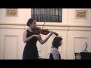 И.С.Бах, Сонаты и партиты для скрипки соло. Лур, Гавот и Рондо (Дарья Ончукова)