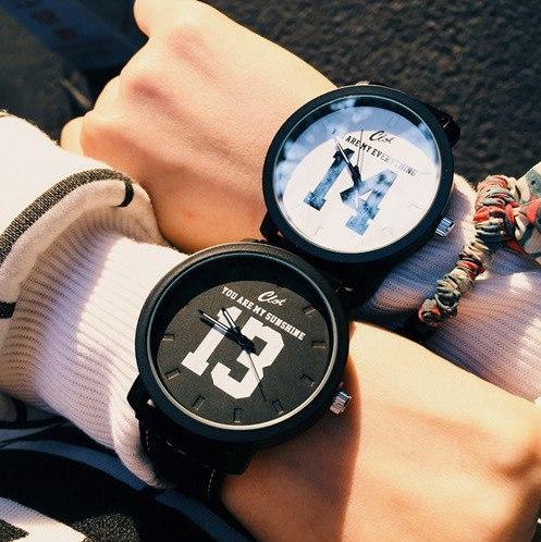 Стильные наручные часы -
