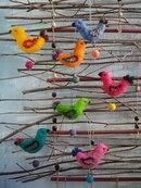 Попробуйте изготовить игрушечку-брелок валянием.  Этот занимательный процесс не только...