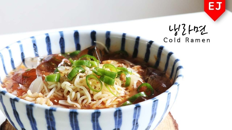 🍲집밥백선생 냉라면 만들기! 백종원 레시피🍲how to make Cold Ramen (noodle) 이제이레시피/EJ recipe