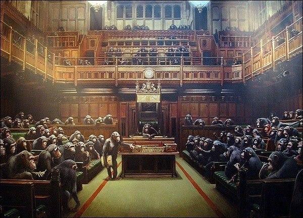 мавпи в парламенті